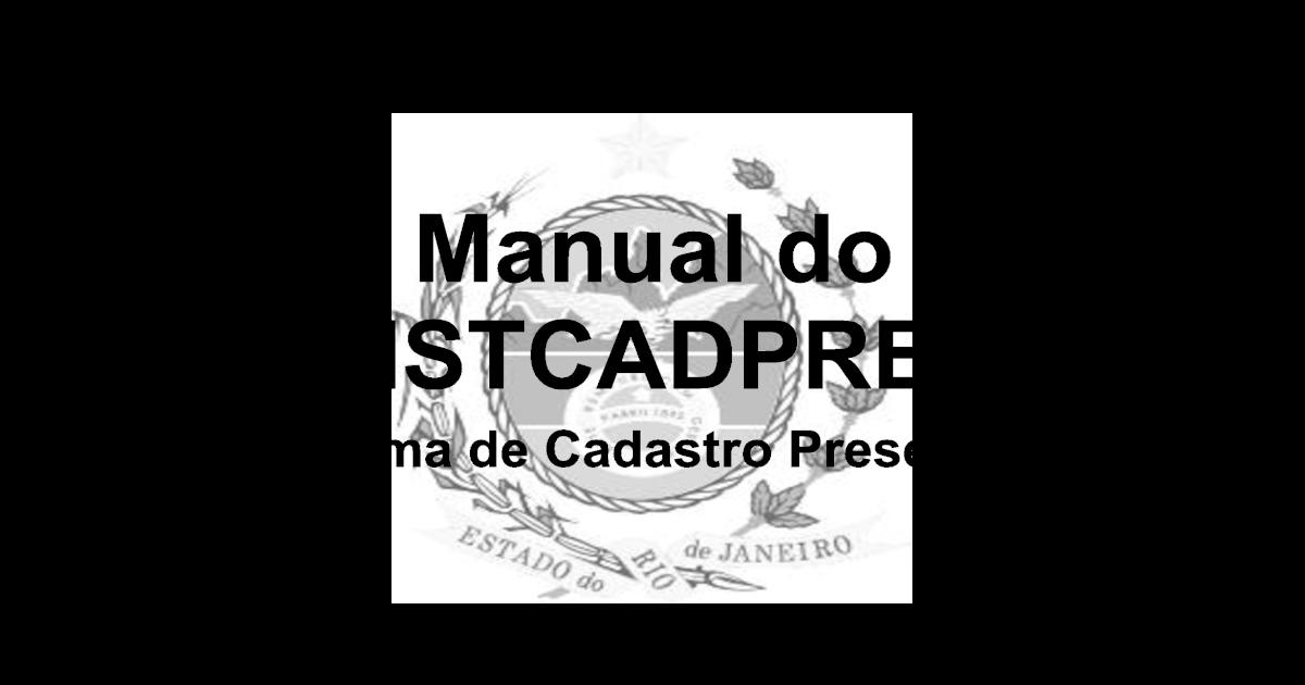 Manual do Sistema de Cadastro Presencial